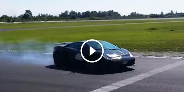 Lamborghini Gallardo Tricolore Drifting Sound Irresistible