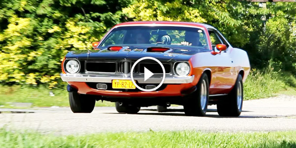 Plymouth Mopar Barracuda exhaust notes
