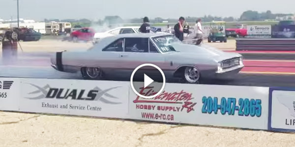 Pro Street DODGE 2013 Interlake dragways ProStreet Dodge Dart 8.95
