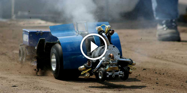 World S Best Rc Truck Pullers Small Like A Bee Powerful