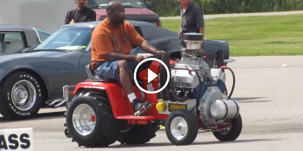 Not One V8 Powered Lawn Mower Video But 4 To Lose Your Mind