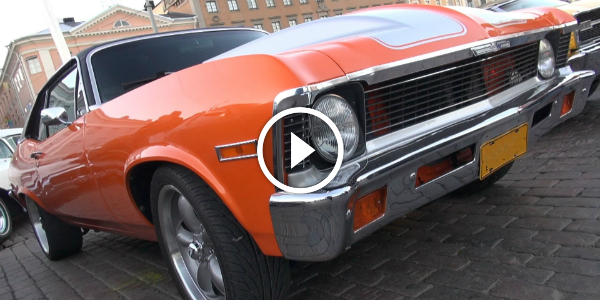 Custom Built 1972 Chevrolet NOVA Spotted In EUROPE! Are You PROUD Of This MUSCLE CAR! 2