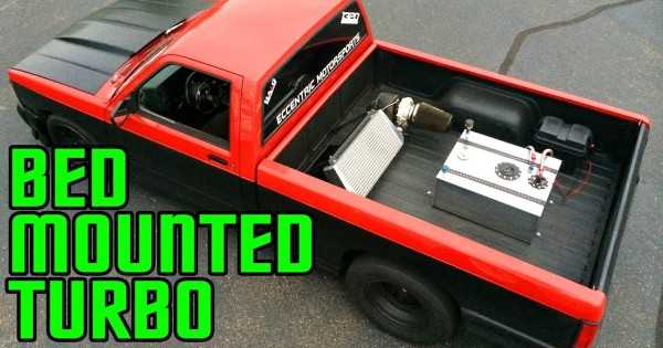 JUST WOW! BED Mounted TURBO GMC TRUCK! This Thing Is WICKED & You Must SEE IT! 1