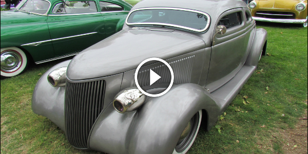 James Hetfield Has A GOOD TASTE! See THE IRON FIST - METALLICA'S GUITARIST 1936 FORD! WOW! 1