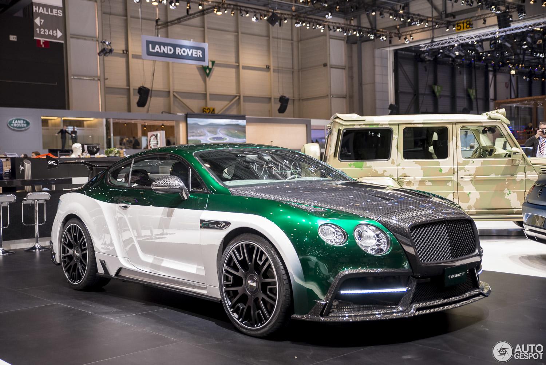 Bentley Continental Gt Concept Race Car