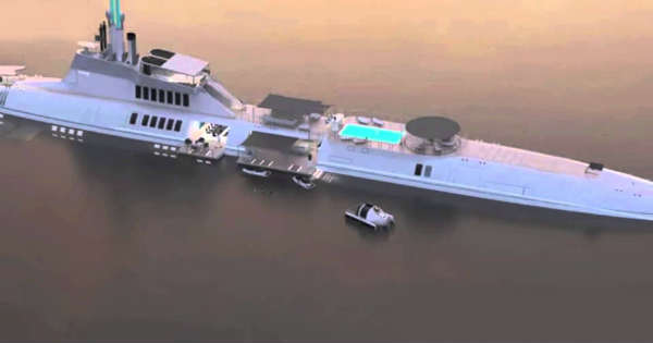 Luxury yacht Nah This SUBMARINE Sounds Better For Billionaires Check It Out 4