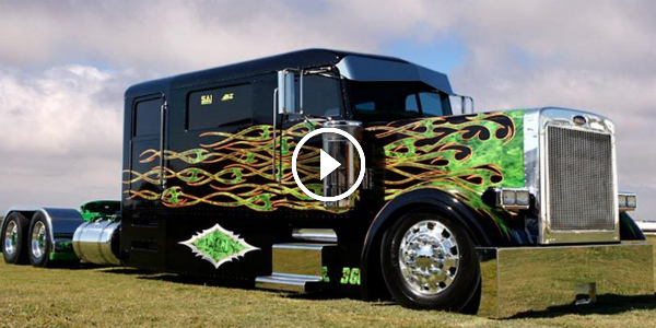Meet Peterbilt Limo Custom Show Truck We Have Another Good Smoker I Want This Muscle Cars Zone