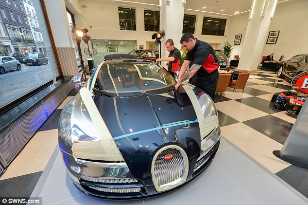 the world 39 s most expensive car polish costs 4 500 only an owner of 3 2 million bugatti veyron. Black Bedroom Furniture Sets. Home Design Ideas