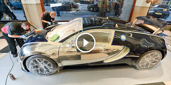 Worlds Most EXPENSIVE Car Polish Costs Up To 7000 A Time