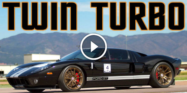 Hp Twin Turbo Ford Gt This Black Mamba Is Invincible