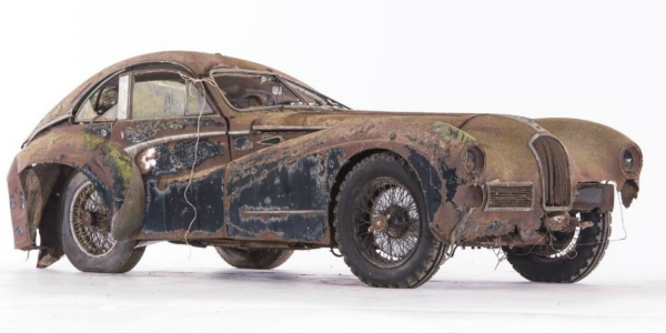 Would You Pay $1.9 Million For A French 1949 Car Full of rust And Dust! Someone Did! 00