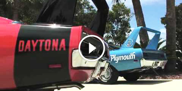 1969 Daytona and 1970 Plymouth Roadrunner Super bird