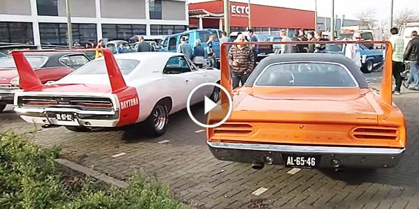 1969 Dodge Charger Daytona & 1970 Plymouth Road Runner Superbird