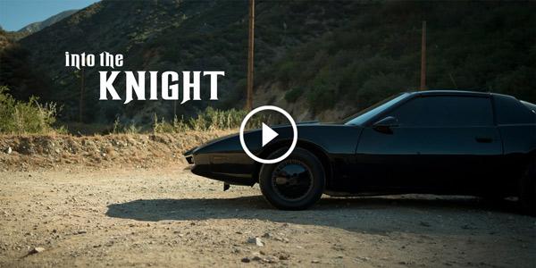 1986 Pontiac Firebird DAVID HASSELHOFF with KITT from Knight Rider