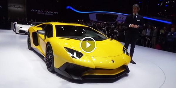 2015 Lamborghini Aventador LP 750 4 SV Lamborghini Huracan Part 1 2015 Geneva Motor Show
