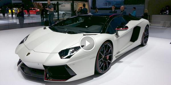 2015 Lamborghini Aventador Pirelli Edition
