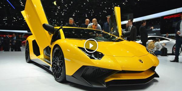 Lamborghini Aventador LP750-4 SV 2015 Geneva Motor Show