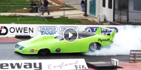 Plymouth Superbird Car Twin Turbo Running 6.46