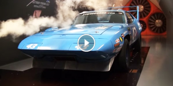 Wind Tunnel Test 43 1971 Petty G Series PLYMOUTH Superbird
