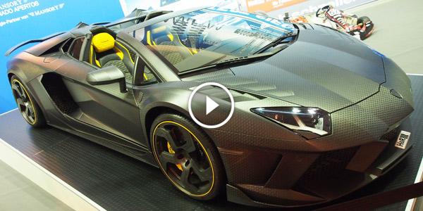 1250hp Mansory Carbonado Apertos Lamborghini Aventador LP700 4 Roadster at 2014 Essen Motor Show