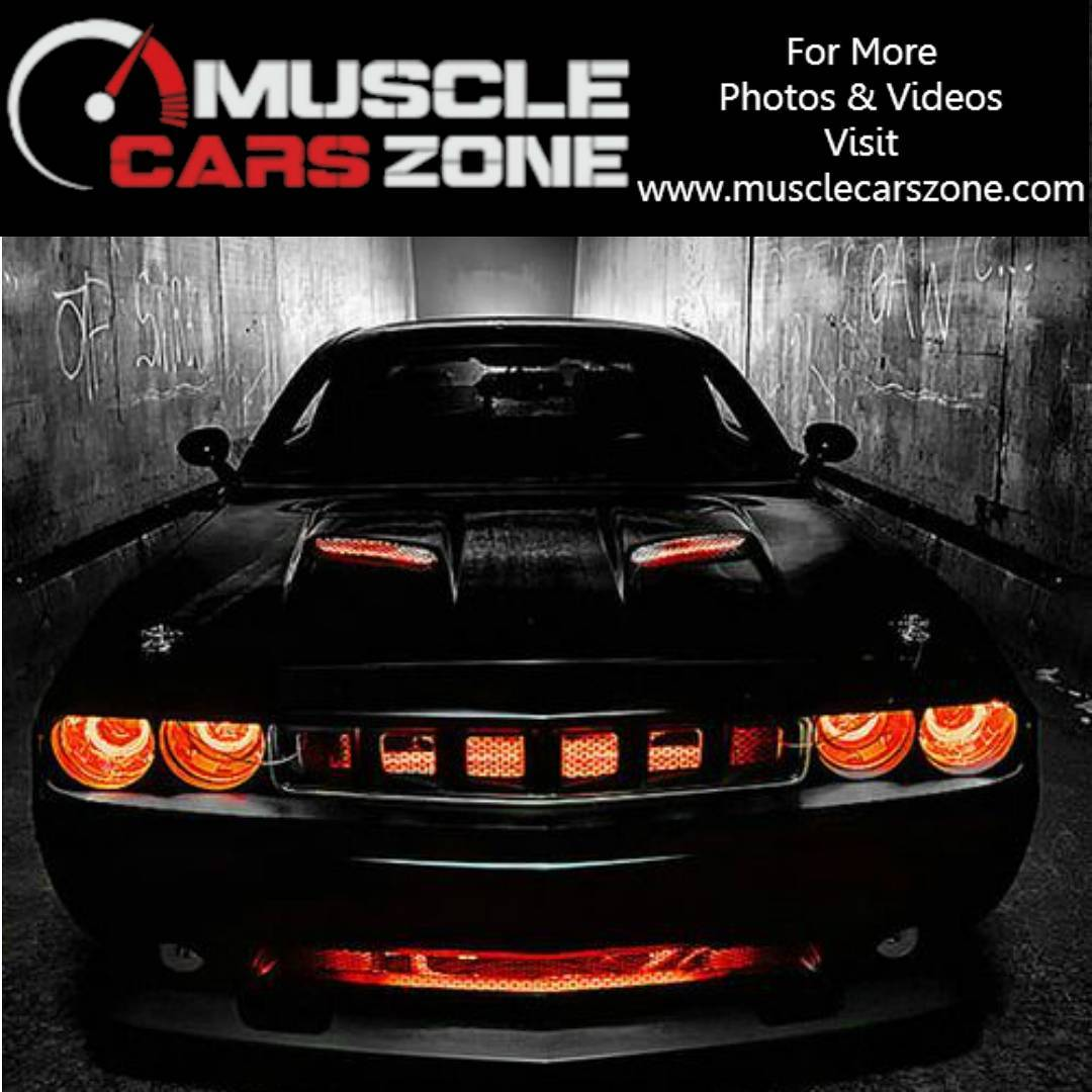 Looks Like This Dodge Challenger Comes From Hell!!!car cars carpornhellip