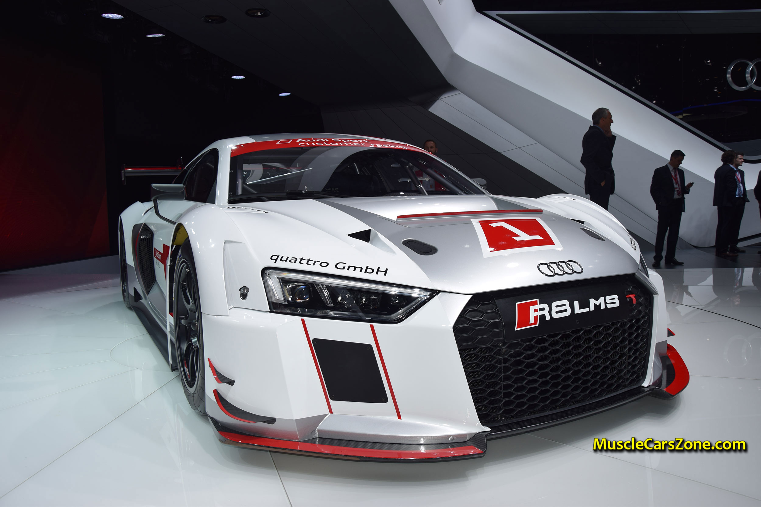 2015 audi sport r8 lms race car 02 2015 geneva motor show jpg muscle cars zone. Black Bedroom Furniture Sets. Home Design Ideas