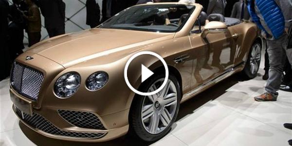 2016 Bentley Continental GT plus