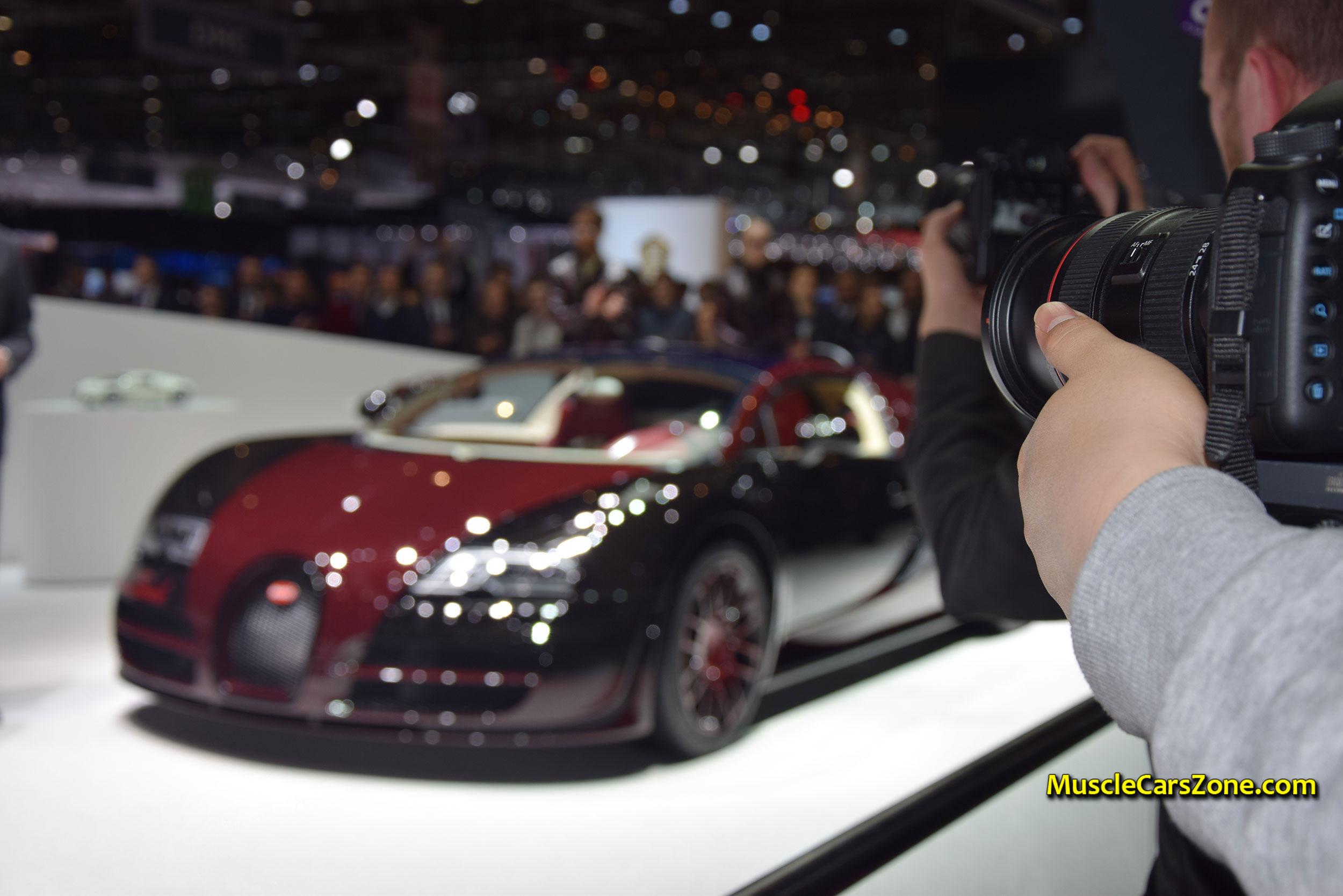 2015-Bugatti-Press-Conference-The-1st-the-450th-Bugatti-Veyron-03-2015-Geneva-Motor-Show.JPG Gorgeous Bugatti Veyron Grand Sport Vitesse Drag Race Cars Trend