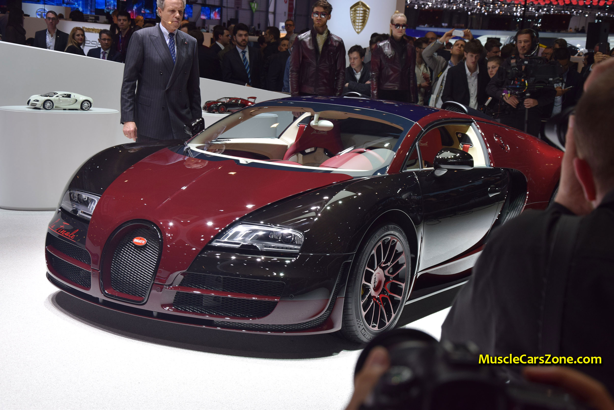 2015-Bugatti-Press-Conference-The-1st-the-450th-Bugatti-Veyron-08-2015-Geneva-Motor-Show.JPG Gorgeous Bugatti Veyron Grand Sport Vitesse Drag Race Cars Trend