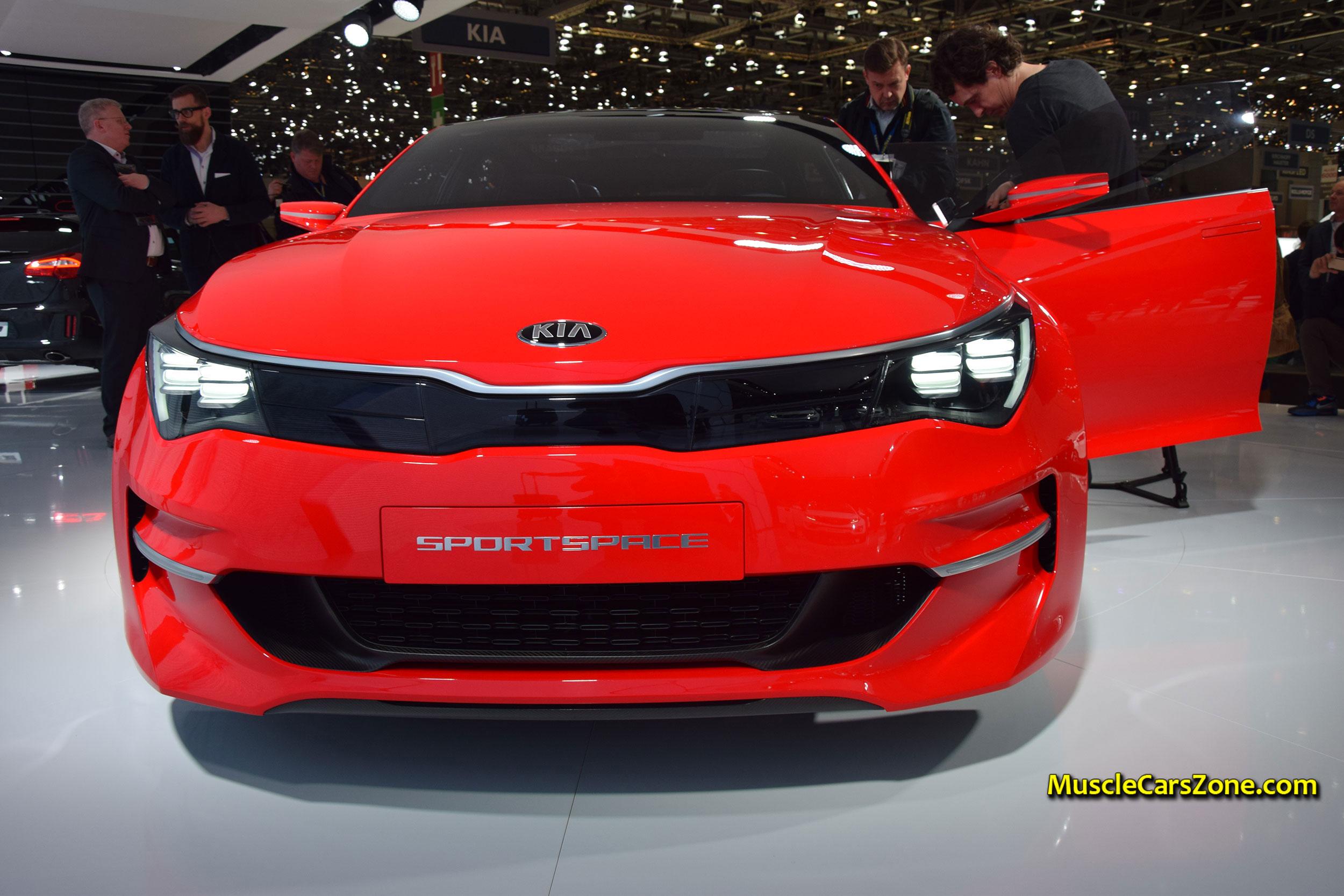 2016 Kia Sportspace Concept Car 2015 Geneva Motor Show
