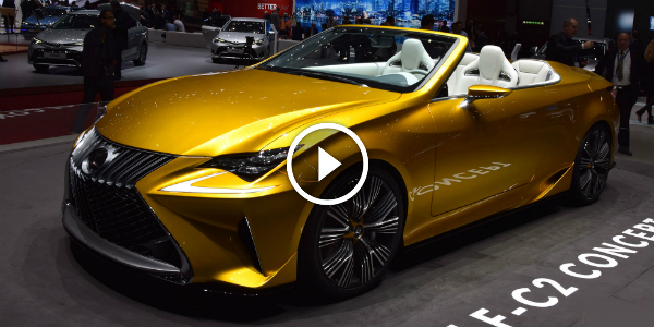 2015 Lexus LF C2 Concept