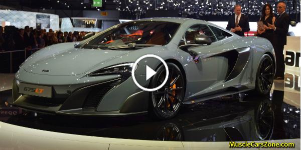 MCLAREN 675 lt geneva 2015 motor show