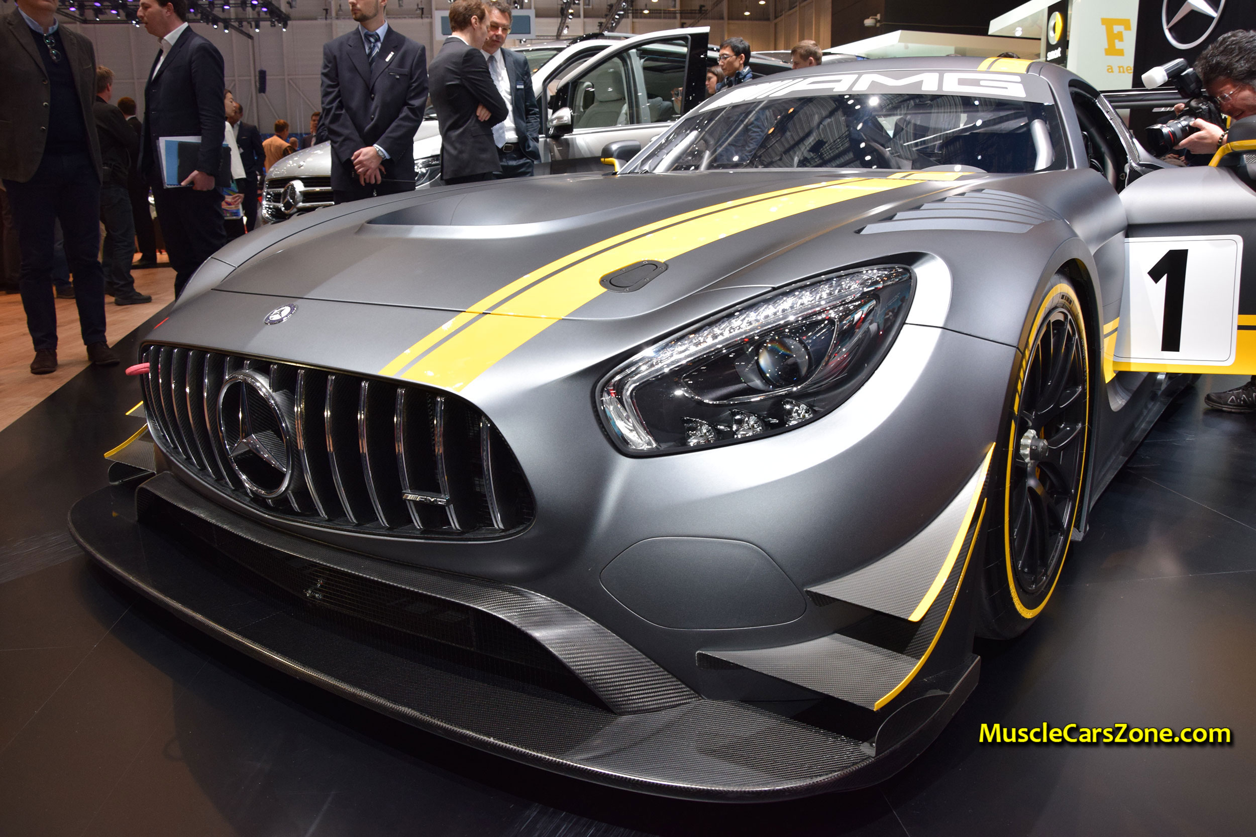 Mercedes Amg Race Car Geneva Motor Show Muscle