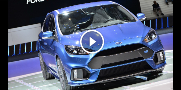Another Long Awaited DEBUT @ Geneva 2015 MOTOR SHOW!!! Take A FIRST LOOK @ The 2016 Ford Focus RS!!! Must SEE 2