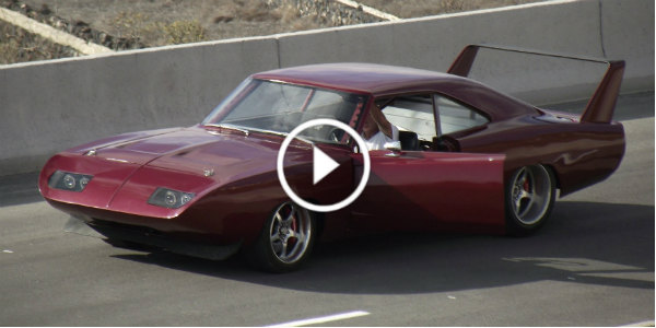 Dodge fast 6 Charger Daytona from Fast and Furious 6 pt
