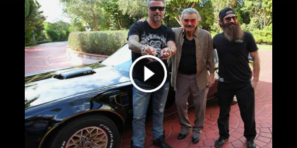 Bandit Trans FAST N' LOUD Crew Is On A MISSION! They Need Burt Reynolds SIGNATURE On The BANDIT TRANS Am! The AWARD 25.000 Dollars!!!52