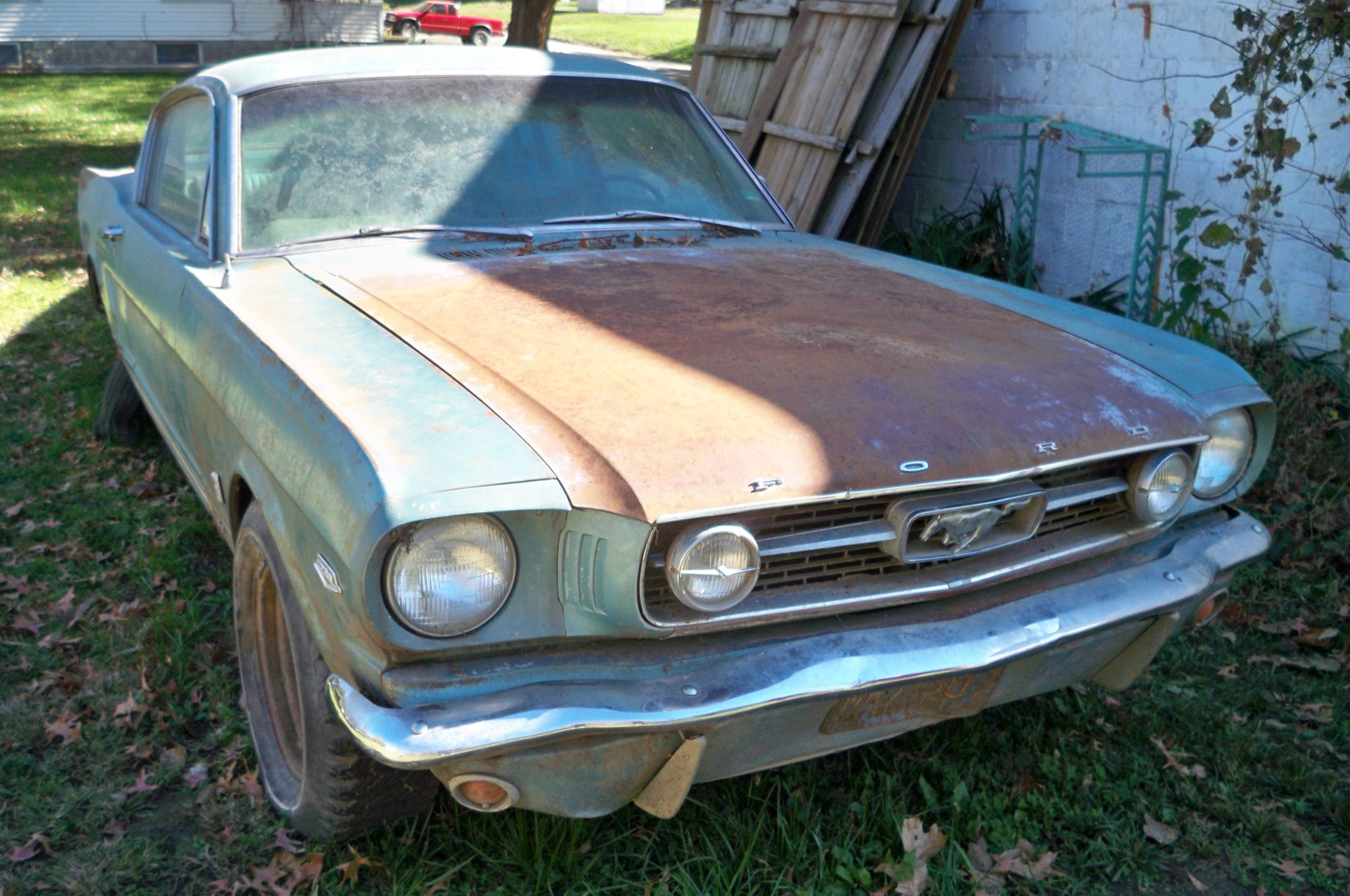GRANDMA Gave Him A 1966 FORD MUSTANG Hi-Po GT FASTBACK! The RARE BEAST Was HIDDEN In SHED & RESTORATION Is PLANNED!