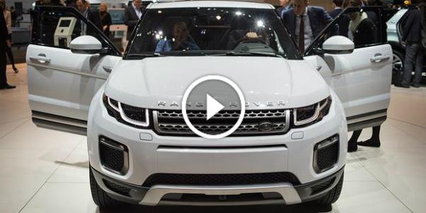 2016 Land Rover Range Rover EVOQUE 2015 GENEVA MOTOR SHOW 123
