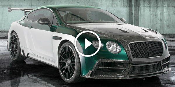 Bentley Sports Car Concept By Mansory 15 Geneva