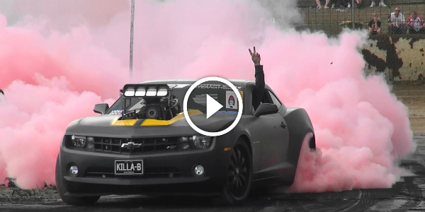 Killa B Blown V8 Camaro Won The Ubc 7 Trophy Avalon