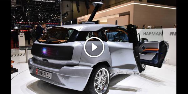 Rinspeed Budii 19 Geneva Motor Show 2015