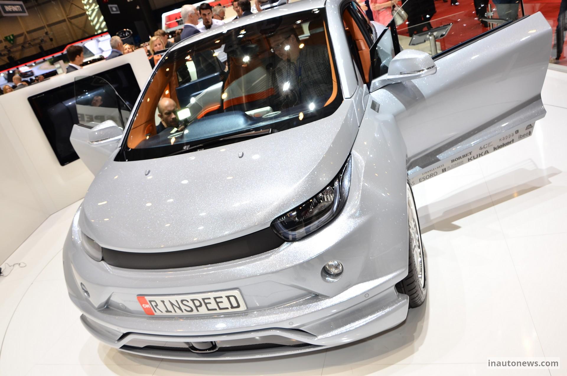 Rinspeed Budii 6 Geneva Motor Show 2015