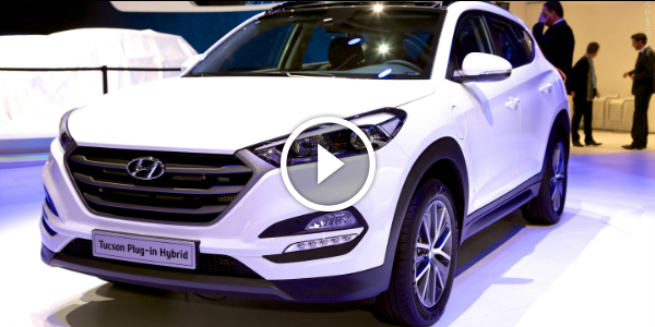 The 2016 HYUNDAI TUCSON Plug In Hybrid Revealed @ Geneva Motor Show! SEE IT FIRST & Leave Your Comments!! 2!