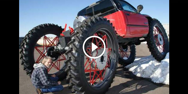 Tractor Wheels Concept : Yeti concept truck ex dodge ram with inch