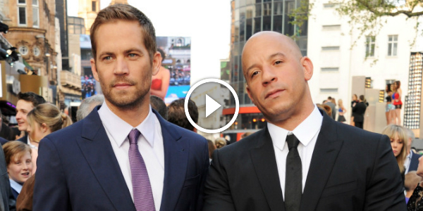 """VIN DIESEL Interview """"Furious 7 Was For Paul & FURIOUS 8 WILL BE FROM PAUL!!!"""" Watch This EXLUSIVE BACKSTAGE Interview With VIN DIESEL! 3"""