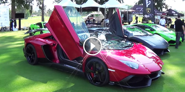 Miami Beach Concours D Elegance Display Of Hedonism