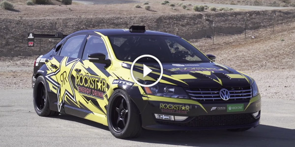 Meet With Tanner Foust S New Drift Monster Hp Volkswagen