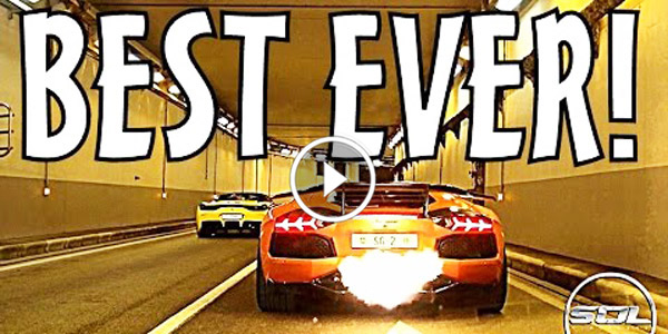 WORLD'S LOUDEST SUPERCAR CONVOY