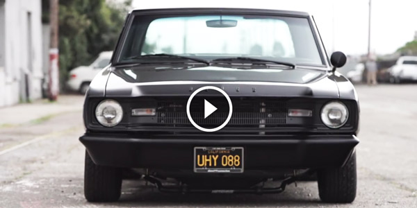 A DODGE DART Classic with Identity BIG MUSCLE