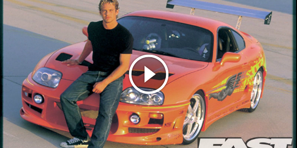 PAUL WALKER's ORANGE SUPRA From Fast & Furious Is UP FOR SALE!!! It Will Be Sold For At Least $200!!! 52